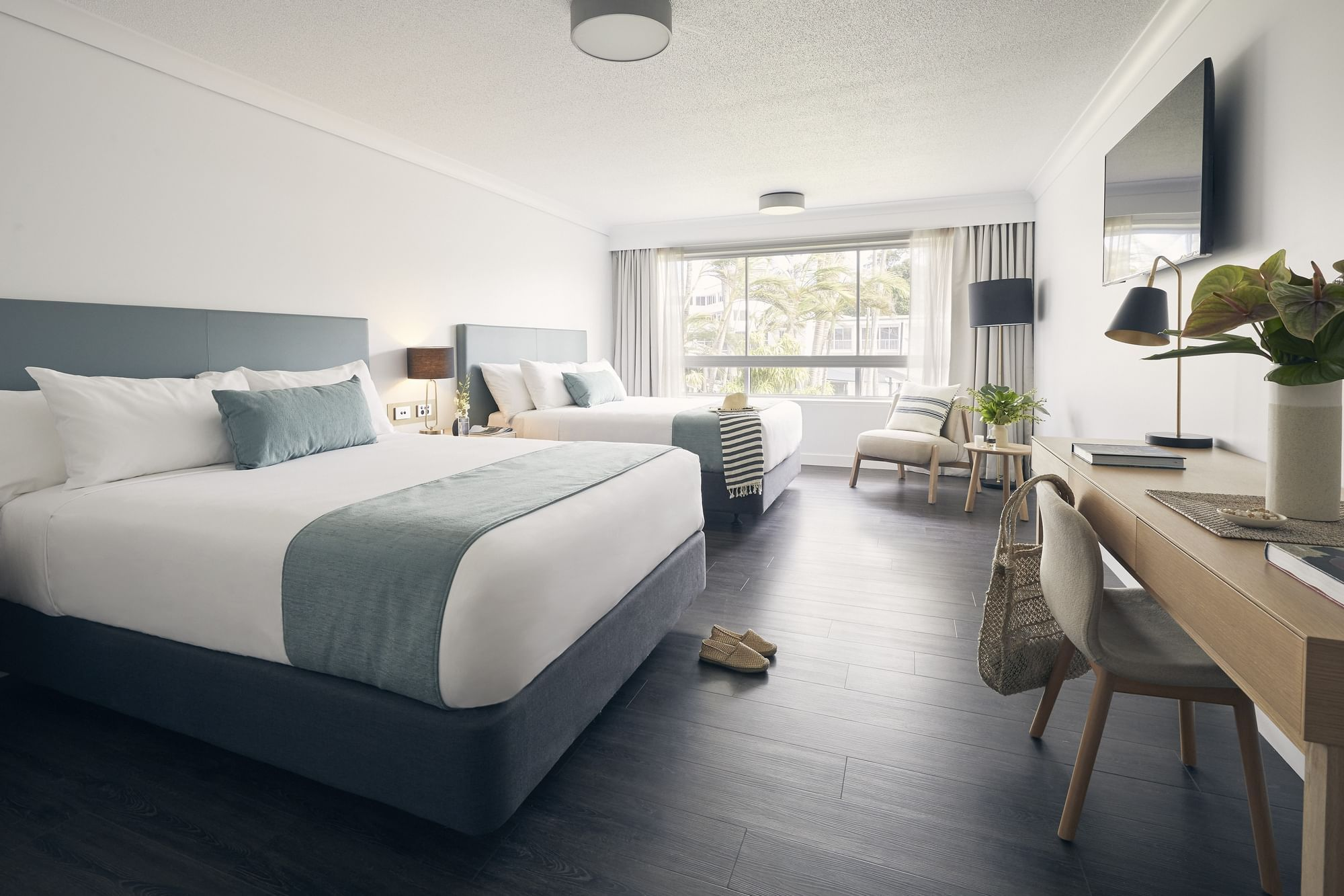 Standard twin Room with double beds at Daydream Island Resort