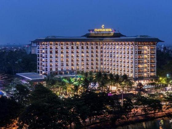 Chatrium Hotel Royal Lake Yangon Facade