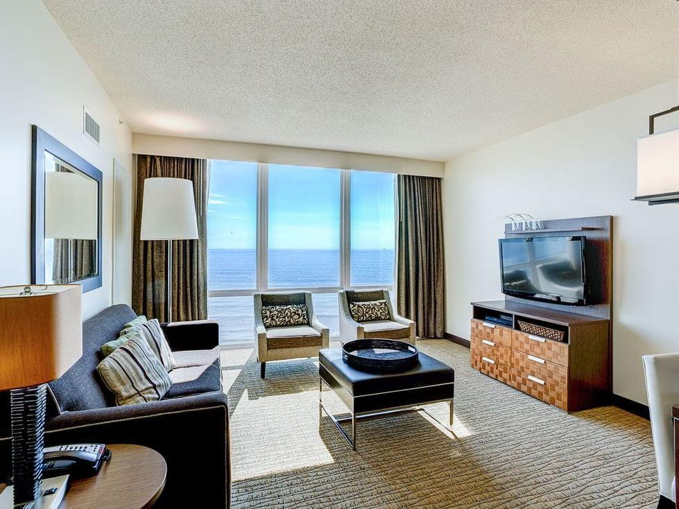 Oceanfront two bedrrom suite at Diamond Resorts Virginia Beach