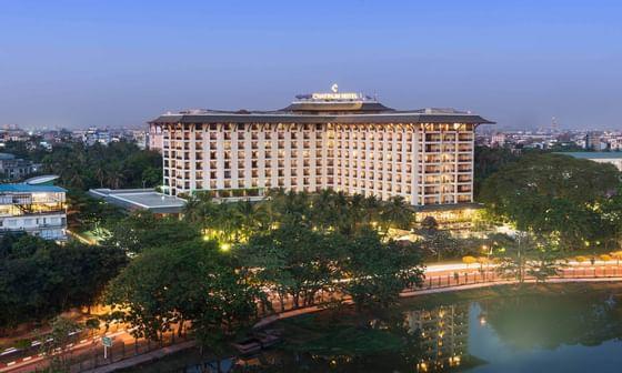 Chatrium Royal Lake Yangon Facade