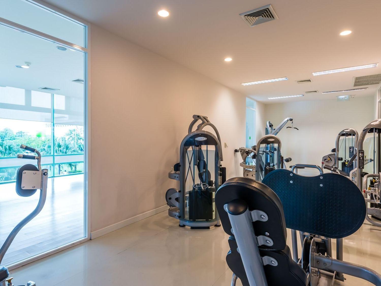 View of Fitness center at Chatrium Residence Riverside Bangkok