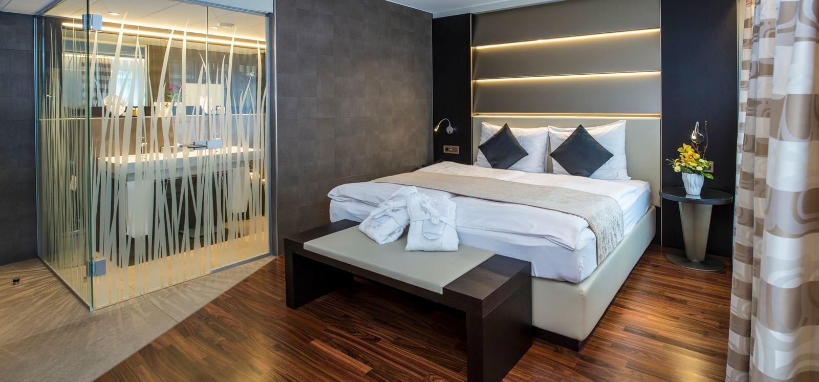 Zimmer im Hotel Krone Unterstrass in Zürich