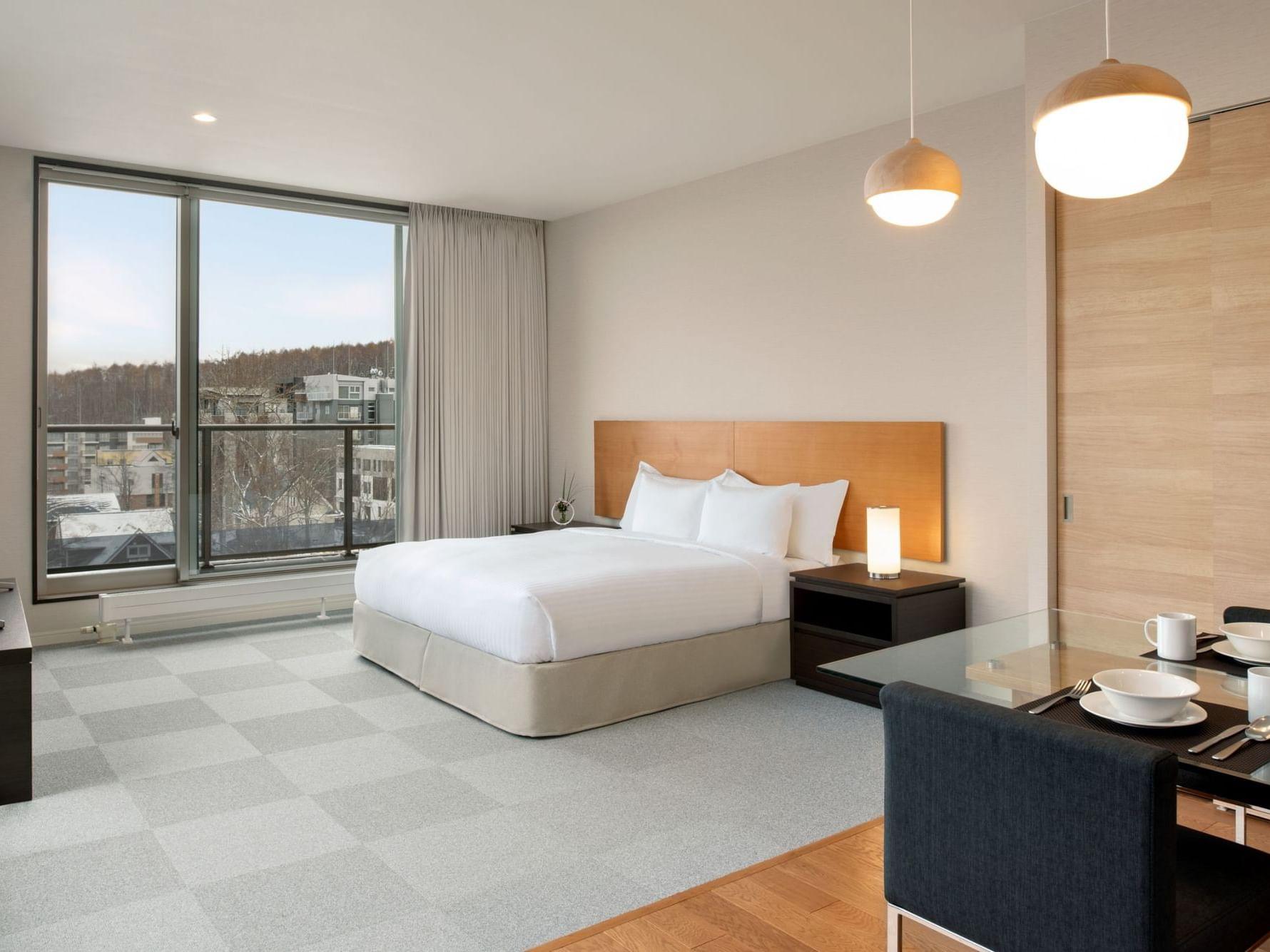 3 Bedroom Suite City View at Chatrium Niseko Japan