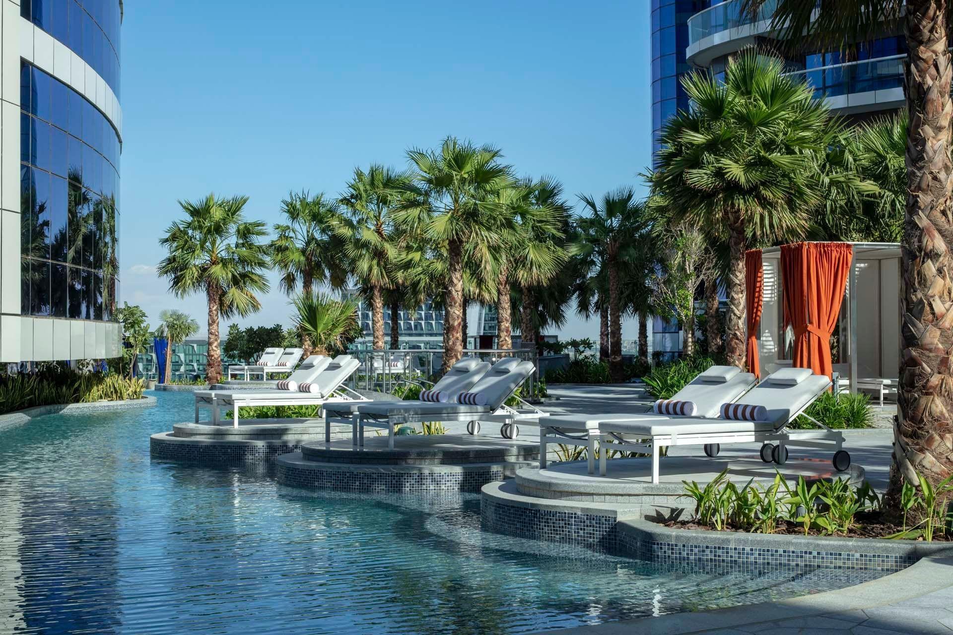 Pool at Paramount Hotel Dubai
