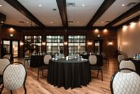 Meeting space set up - the Beaumont Room