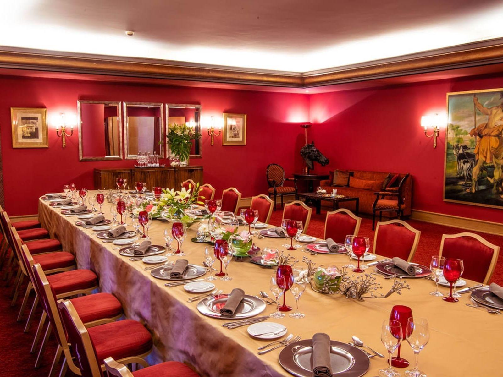 Salón Privado Estoril del Hotel Cascais  Miragem Health and Spa