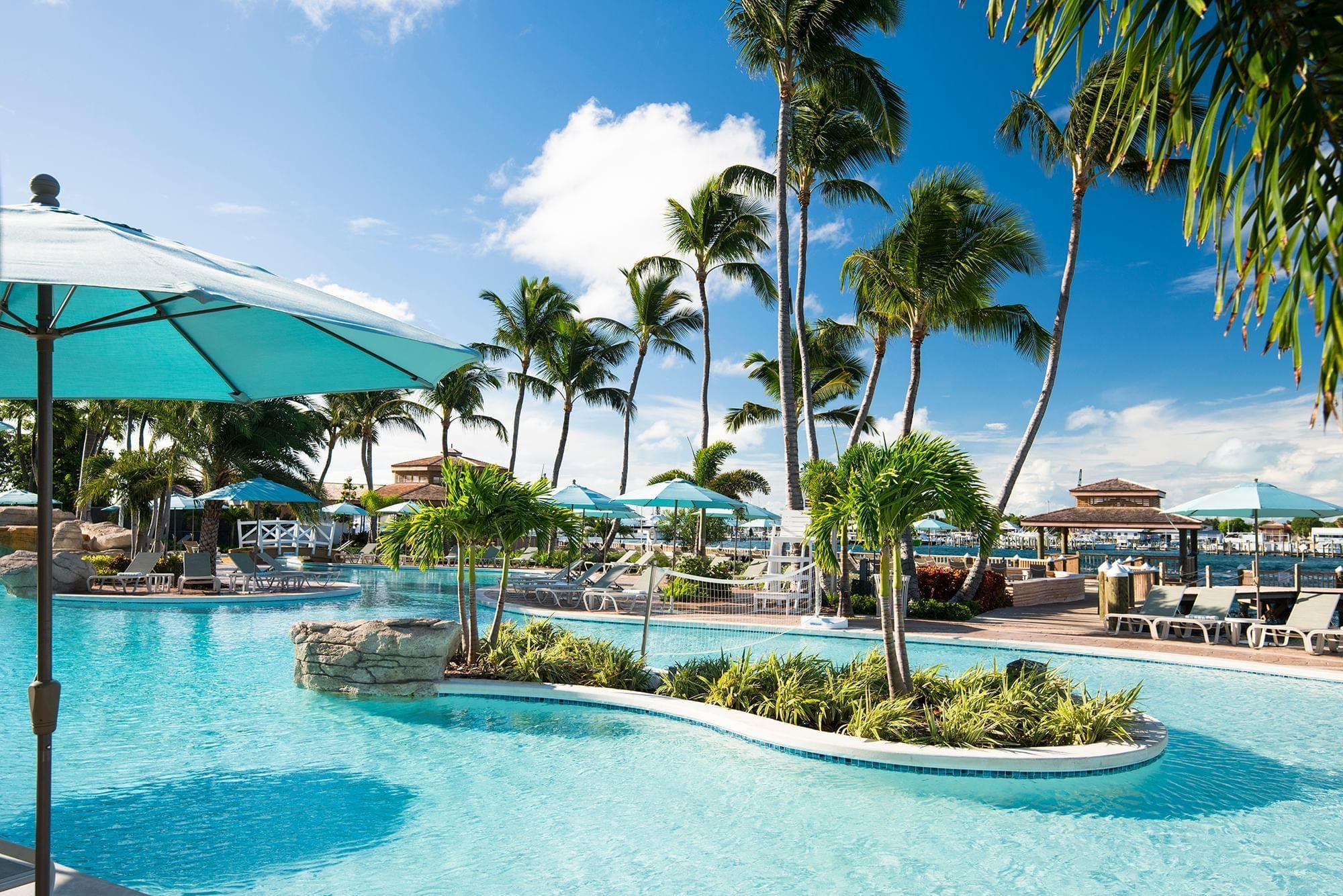 Warwick Paradise Island Bahamas Pool and Palms