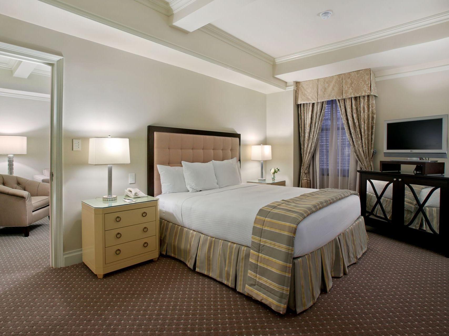 Premier Suite Interior Bedroom