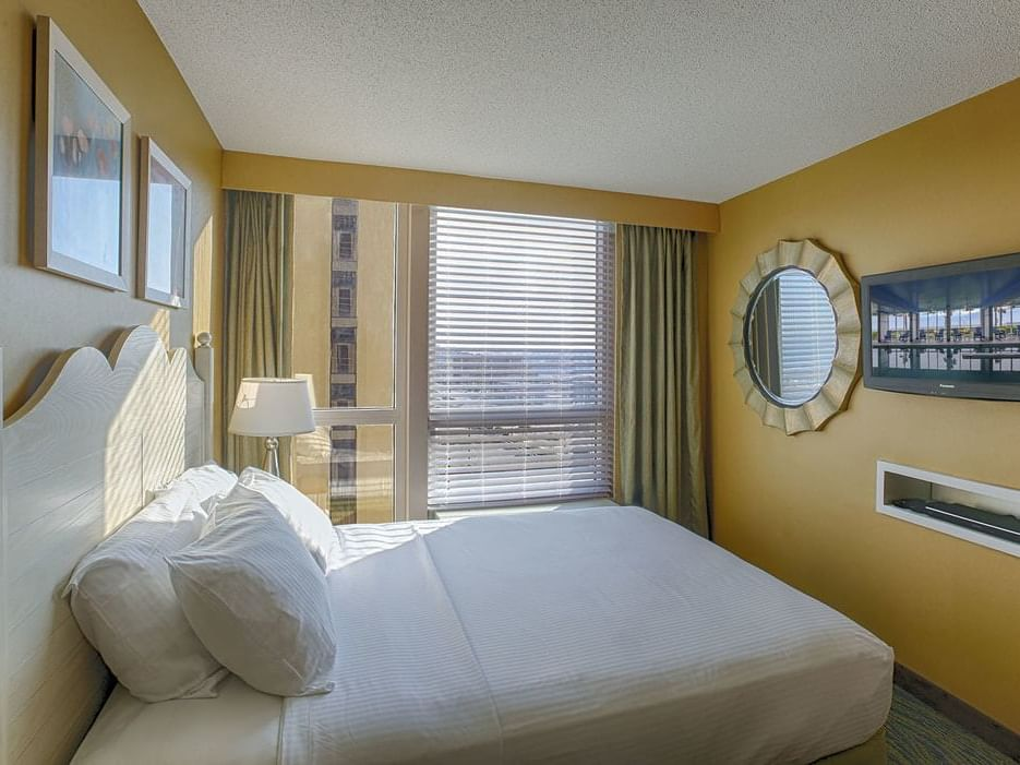 One bedroom suite at Diamond Resorts Virginia Beach