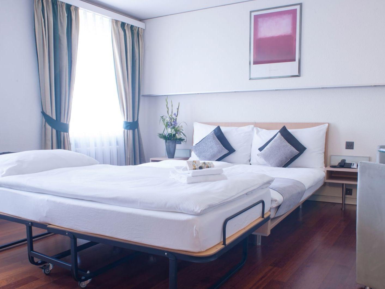 Standard Triple Room at Hotel Krone Unterstrass in Zurich