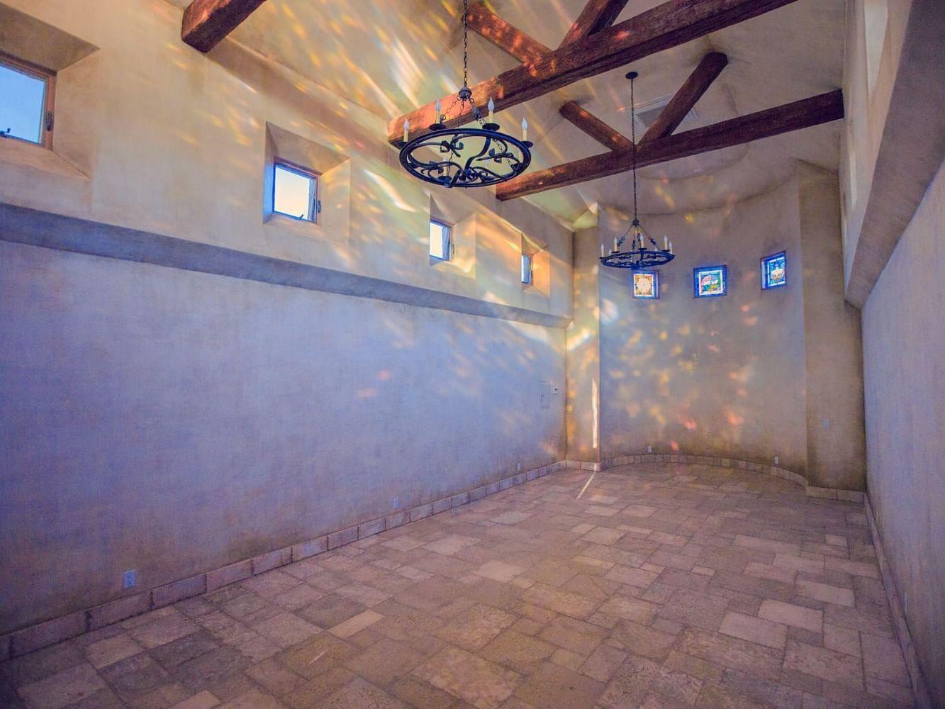 Interior or Allegretto Abbey