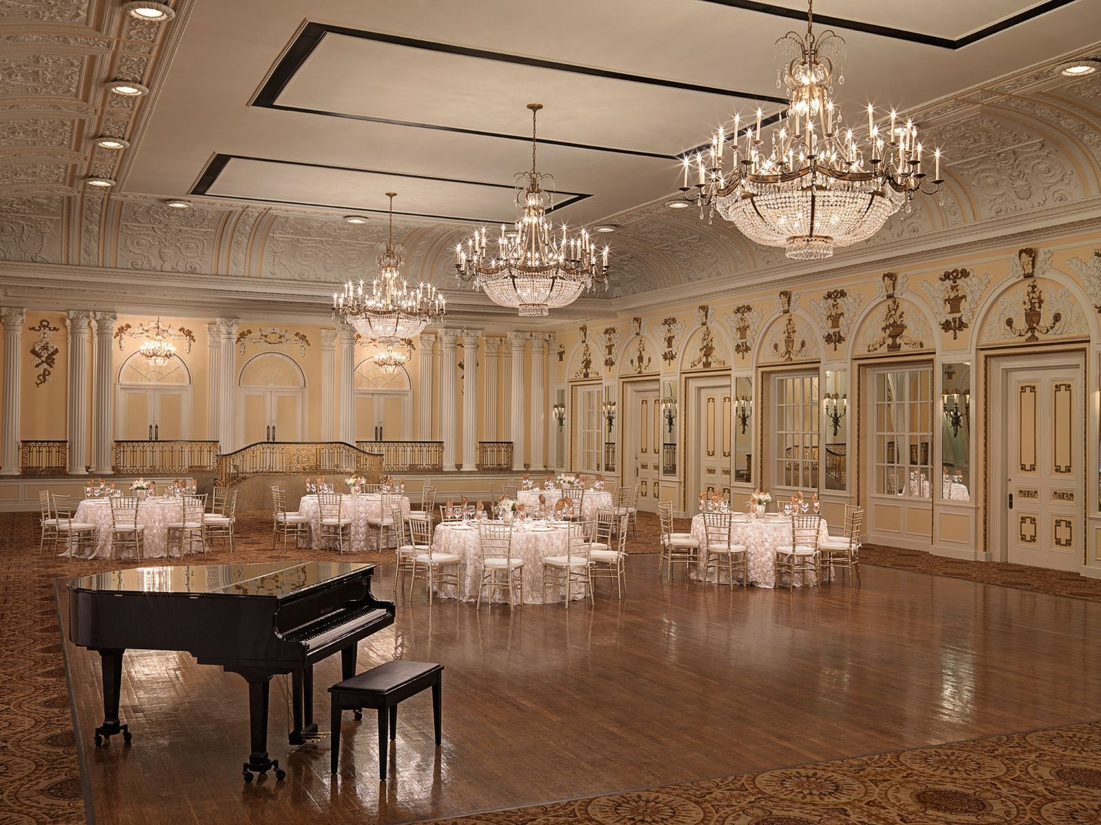 The Continental Ballroom at The Peabody Memphis - Weddings and E
