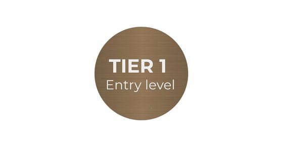 bronze tier 1 logo