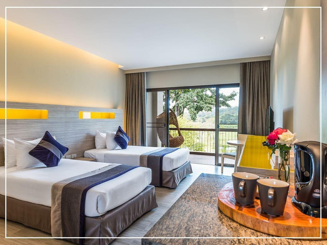 Deluxe Mountain View Room at Chatrium Golf Soi Dao Chanthaburi