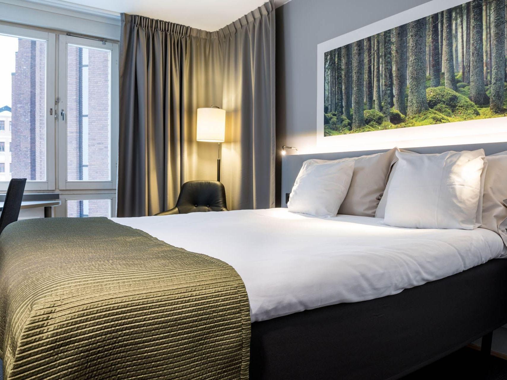 Double Small Room at Hotel Birger Jarl in Stockholm, Sweden