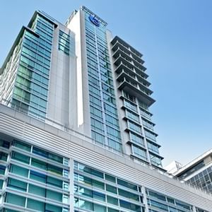 Exterior of Coast Coal Harbour Vancouver Hotel by APA