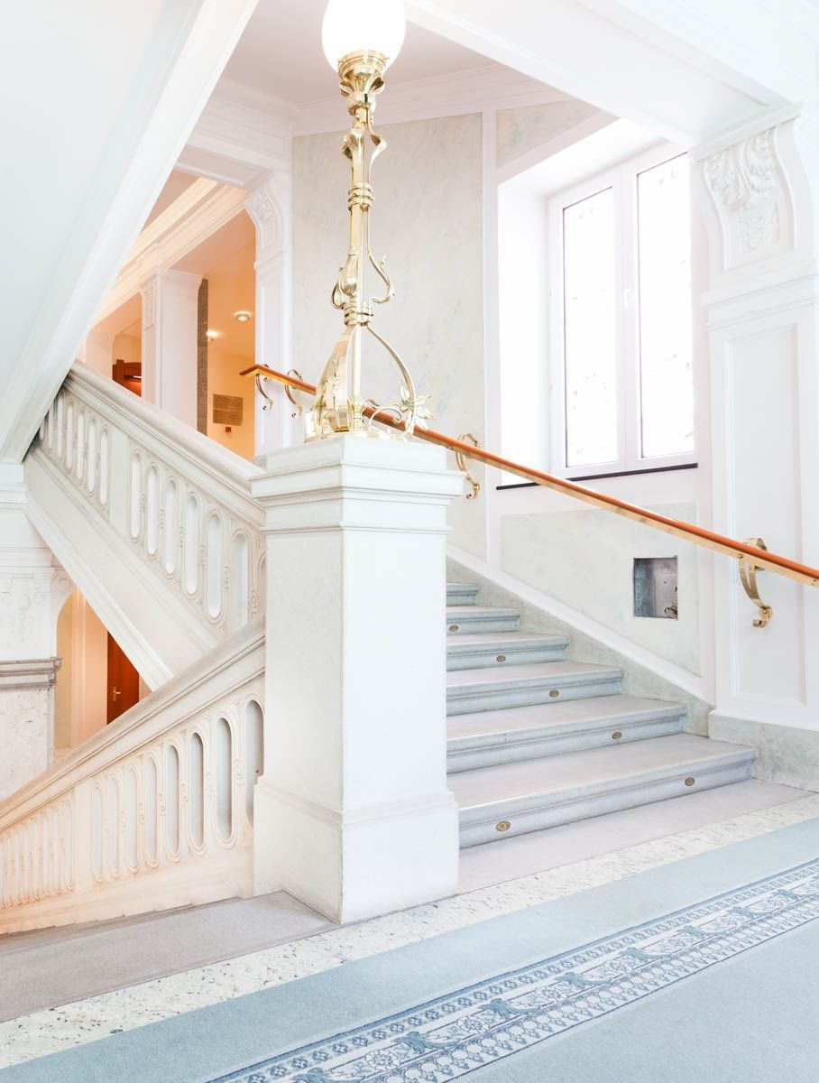 Hallway at Grand Hotel Union in Ljubljana