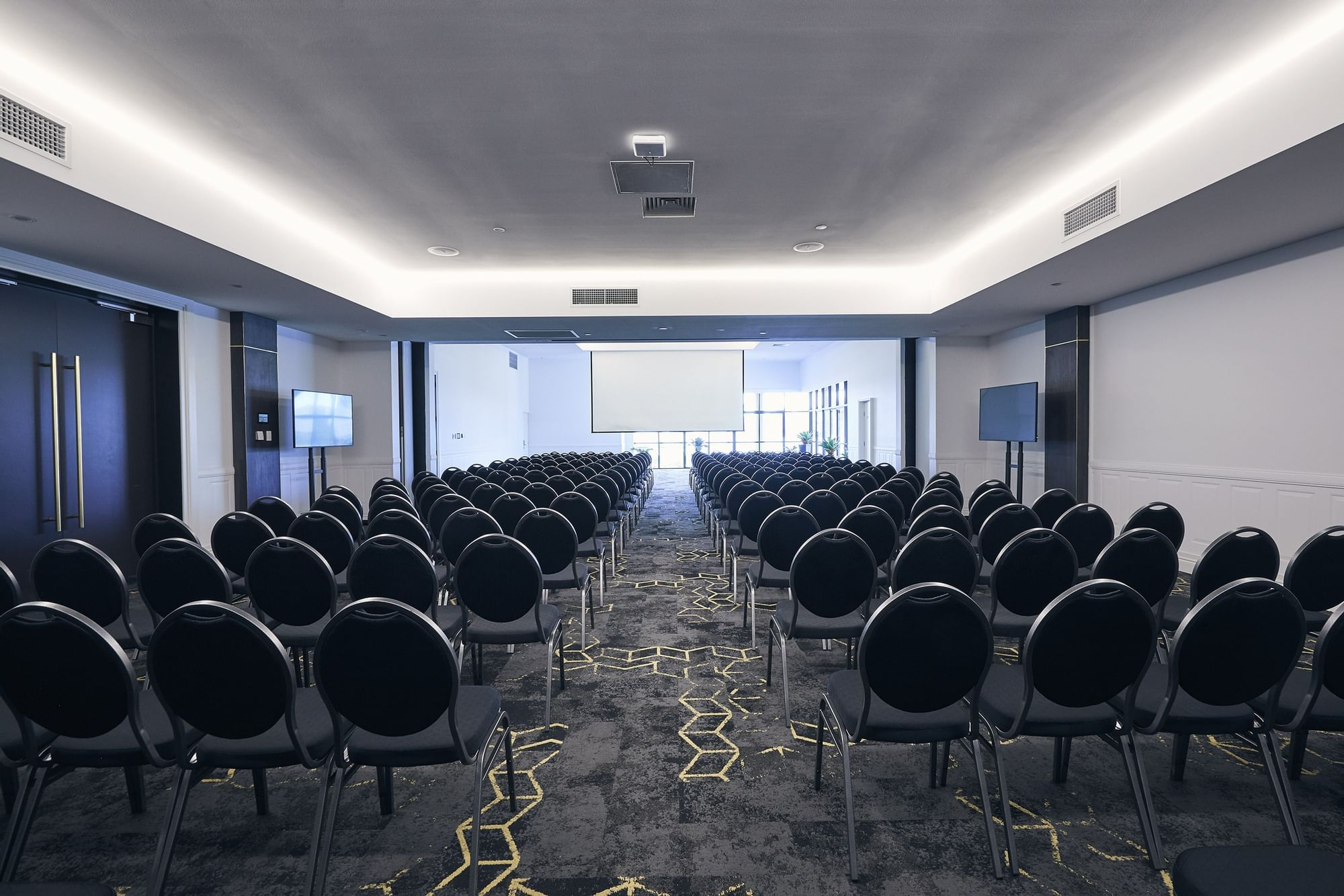 Horizon room arranged for conference at Daydream Island Resort
