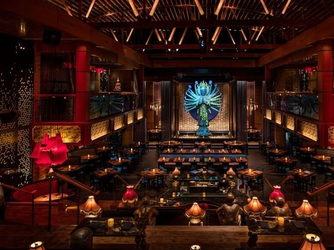 Meeting room in Tao Asian Bistro at Dream Hollywood