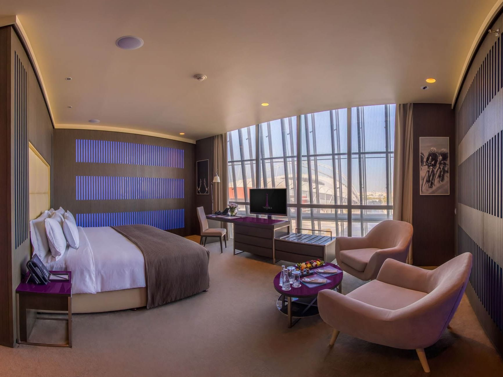 Deluxe Room at The Torch Doha Hotel in Qatar