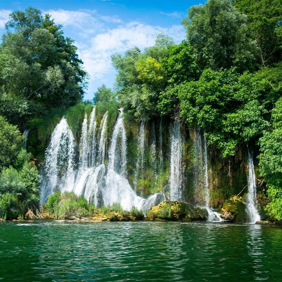 National Park Krka Waterfalls near Falkensteiner Hotels and Residences