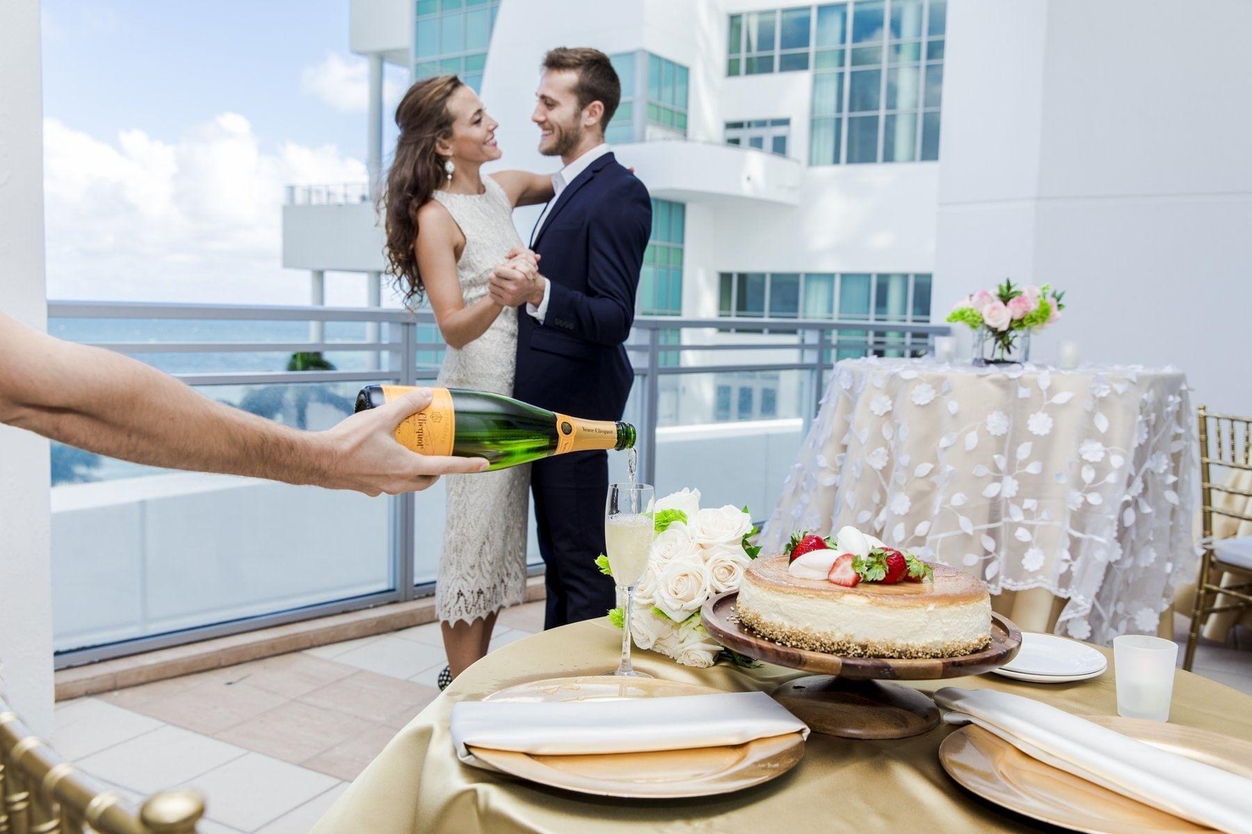 The Diplomat Resort Outdoor Reception