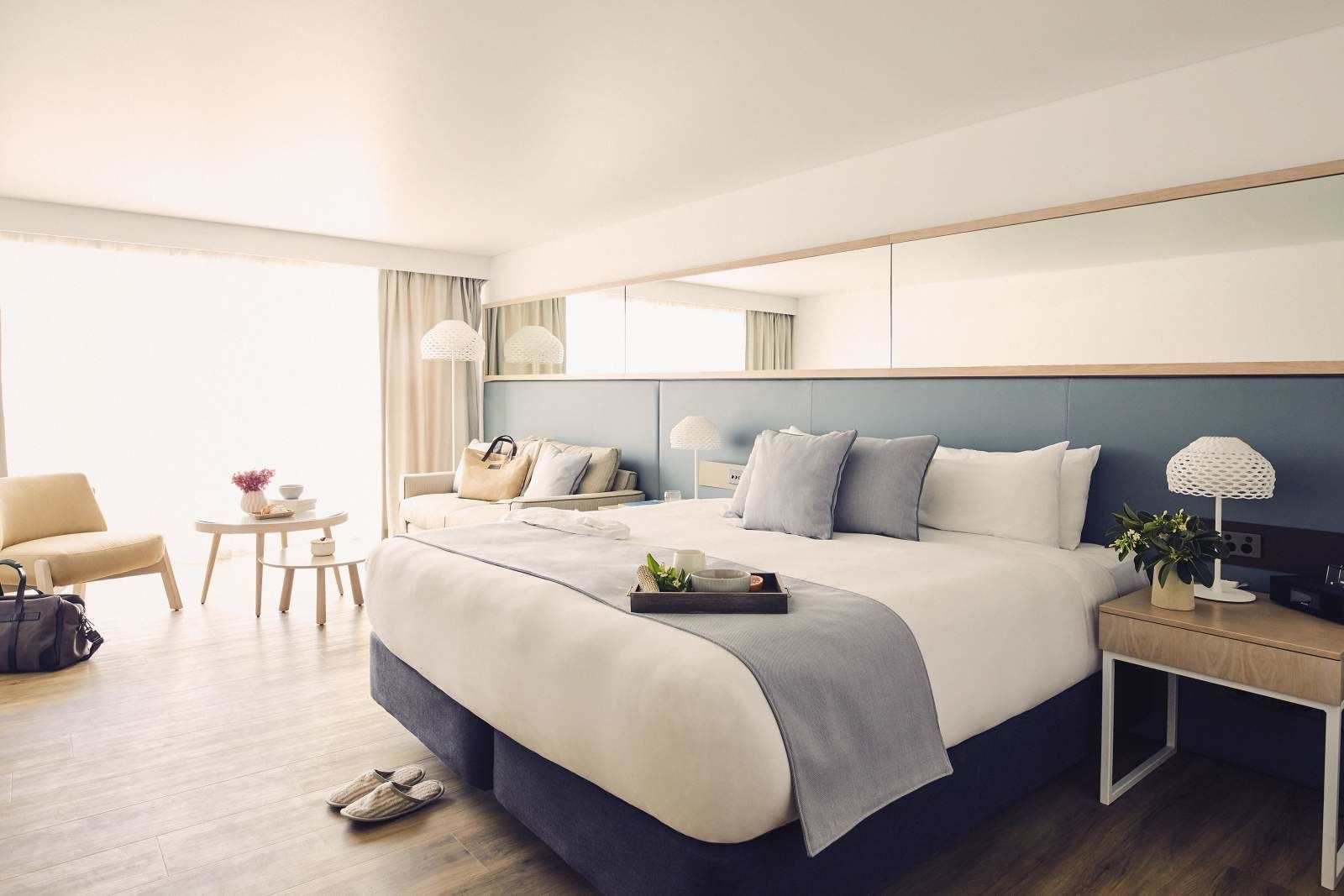 Comfortable bed in Superior Room at Daydream Island Resort