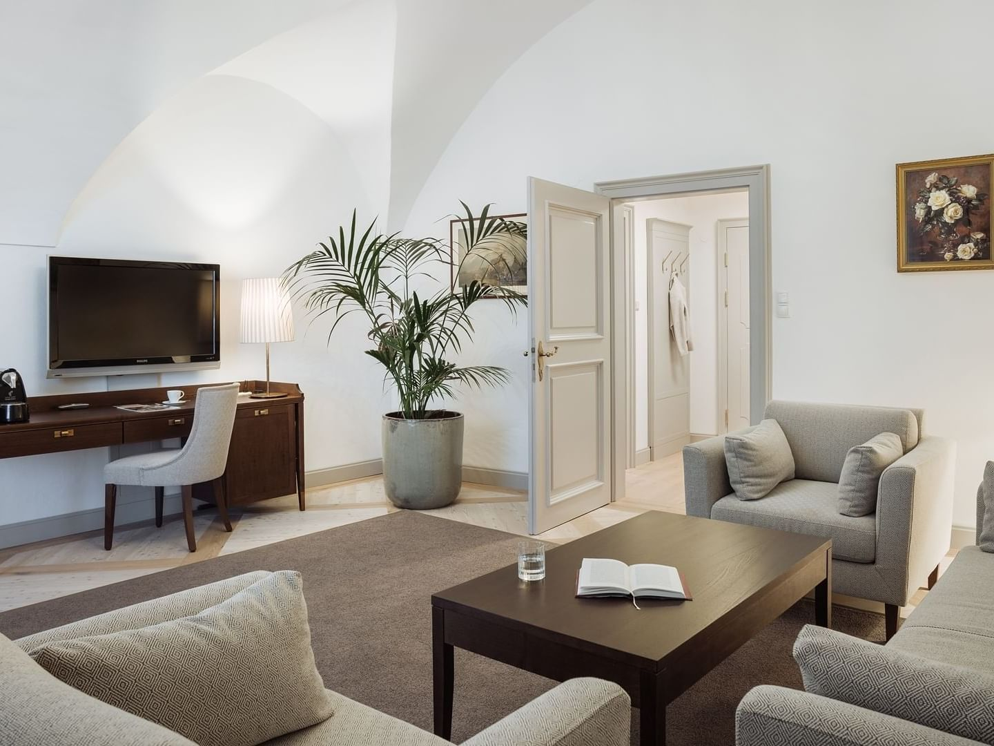 Traditional Suite at Schloss Pichlarn Hotel in Austria