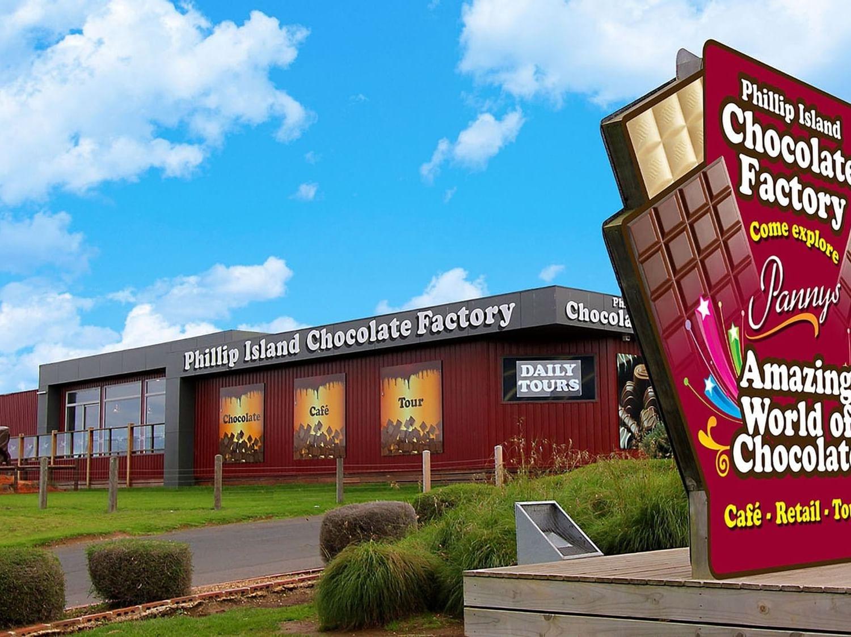 Phillip Island Chocolate factory near Silverwater Resort