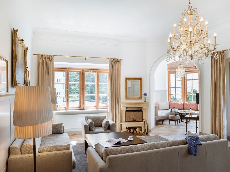 Castle Suite at Schloss Pichlarn Hotel in Austria