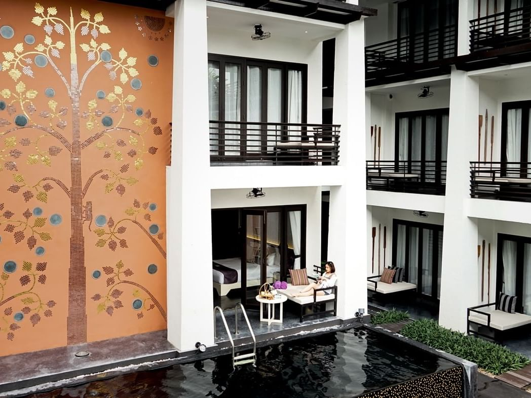 Deluxe Pool Access room at U Hotels and Resorts