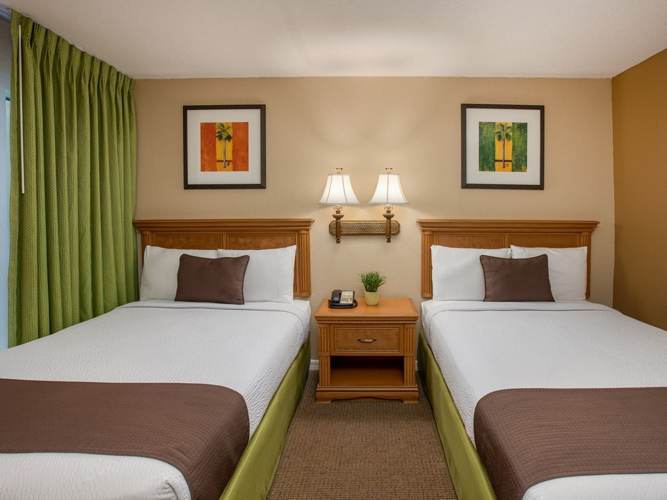 Two Single beds -  Legacy Vacation Resorts