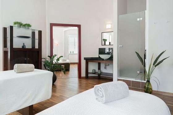 Behandlungsraum - IMLAUER Hotel Schloss Pichlarn
