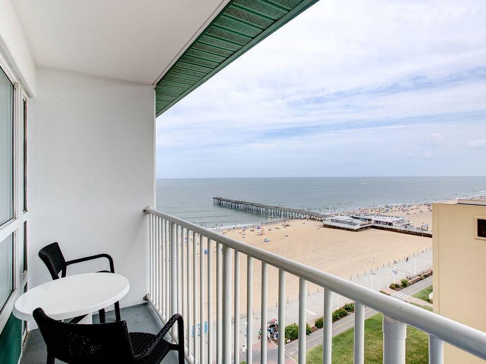 One bedroom suite ocean view at Diamond Resorts Virginia Beach