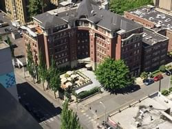 hotel sorrento bird eye view