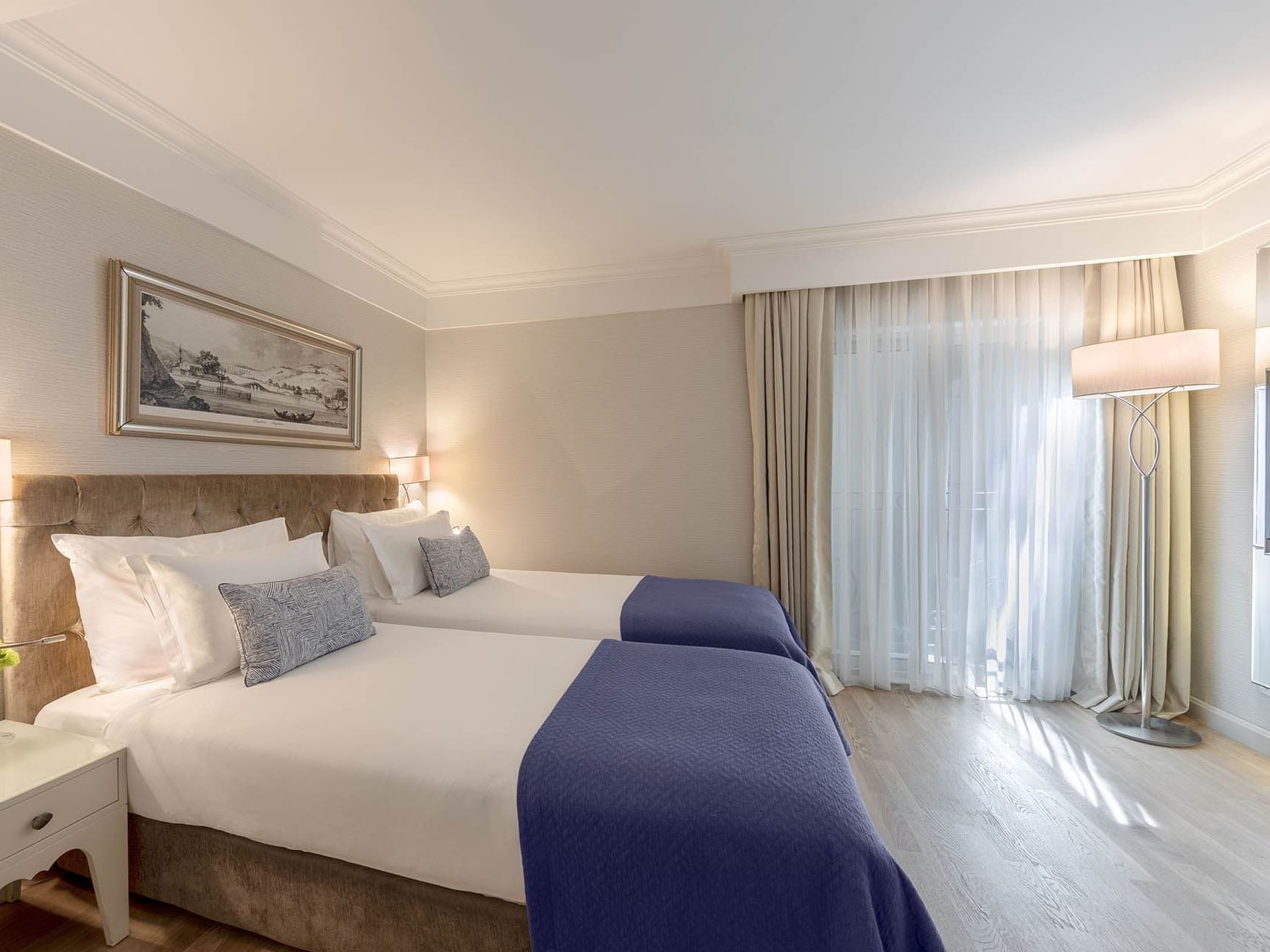 Standard Room with two beds at CVK Taksim Hotel Istanbul