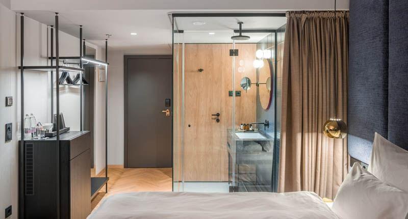 room at Hotel Lev in Ljubljana