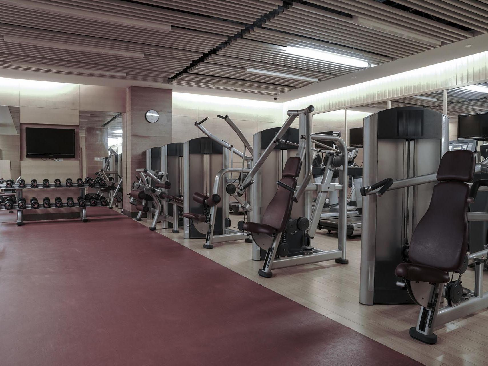 gym at Precise Resort Marina Wolfsbruch