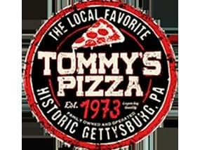 logo for tommy's pizza