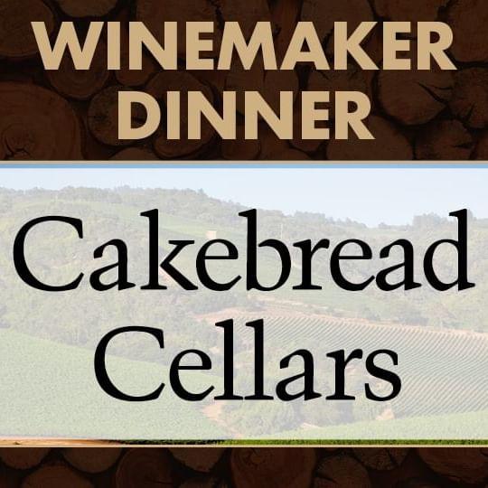 Winemaker Dinner with Cakebread Cellars Logo