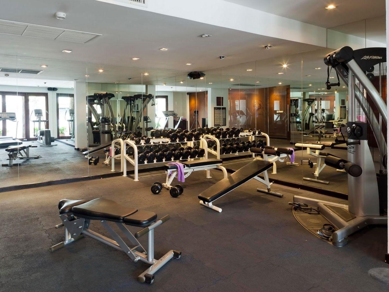 Spacious Gym at U Hotels and Resorts