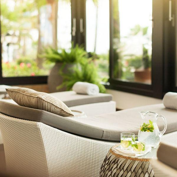 Wellness spa at Marbella Club
