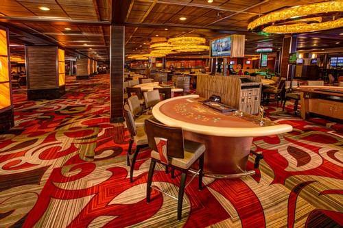 poker tables in casino