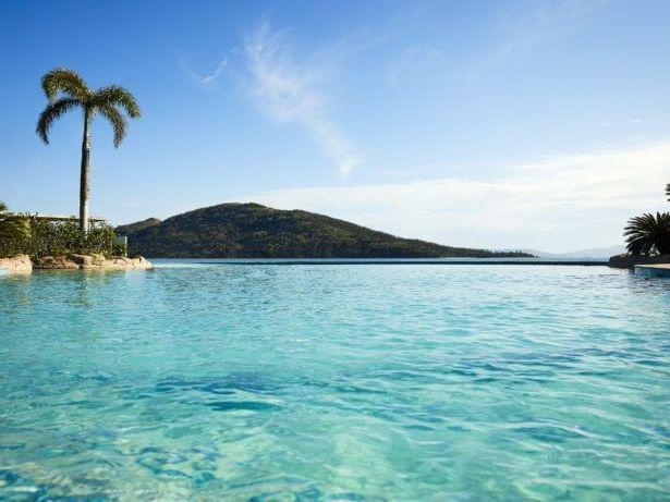 Refreshing view of ocean near at Daydream Island Resort