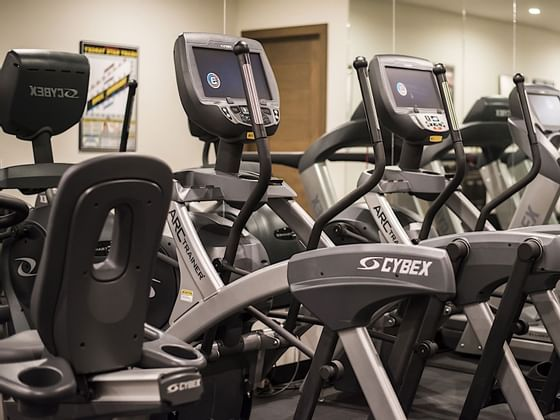 Gym and Fitness Center at Hotel Jackson