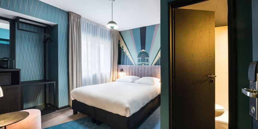 Accommodation at Hotel Hubert Brussels near Grand Place