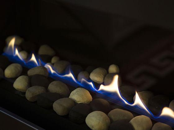 Fireplace at Hotel Jackson