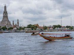 Chao Phraya River near Chatrium Hotel Riverside Bangkok