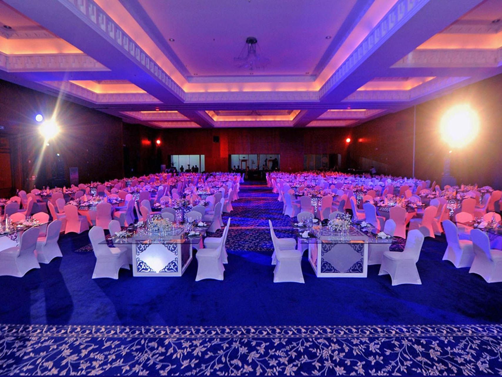 Ballroom at The Torch Doha Hotel in Qatar