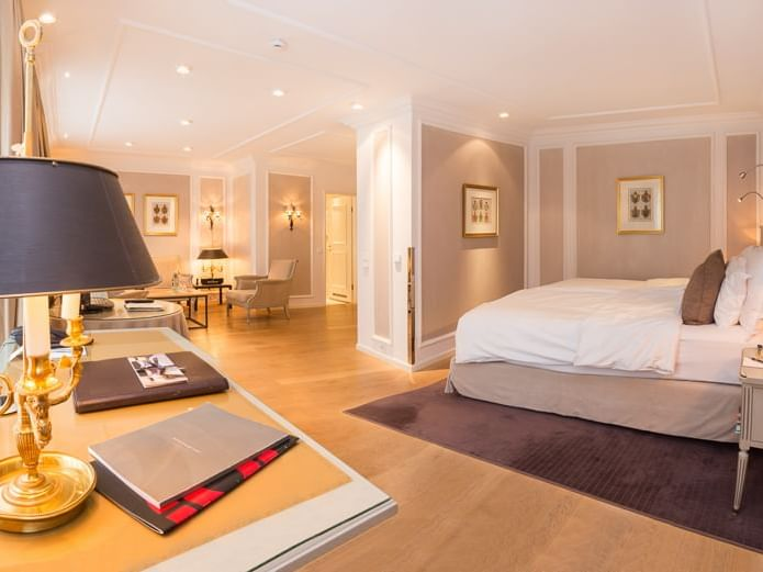 Junior suite im Hotel München Palace